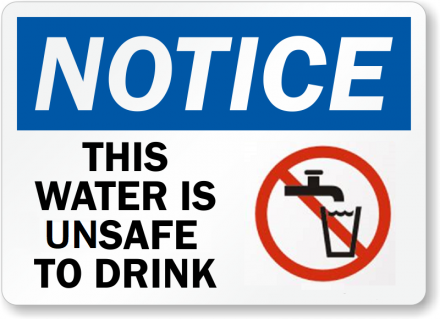 What Should You Do if You Receive a Drinking Water Notice?