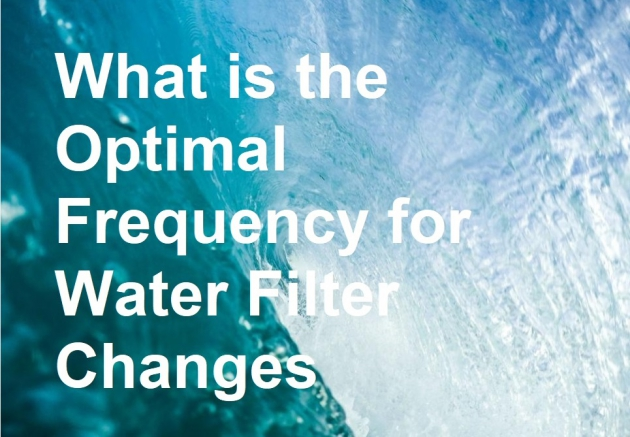 What is the Optimal Frequency for Water Filter Changes?
